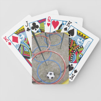 Fotboll i lekplats spelkort