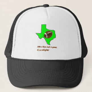 Fotboll i Texas är religionen Truckerkeps