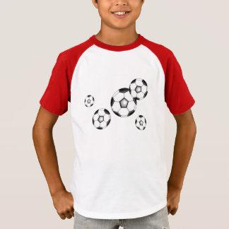 Fotboll klumpa ihop sig futbolfutebol t shirts