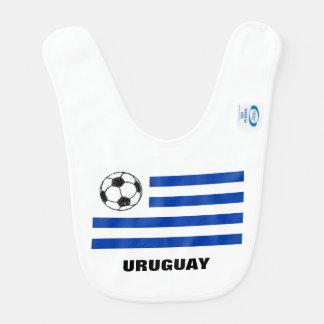 Fotboll skissar, den Uruguay flagga Hakklapp