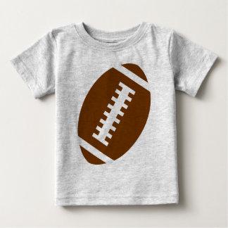 FOTBOLLBABYgrått | beklär fotboll grafisk Tee Shirt