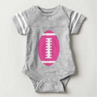 FOTBOLLBABYgrått | beklär rosa fotboll Tee Shirt