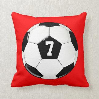 Fotbollboll beställnings- Jersey numrerar Kudde