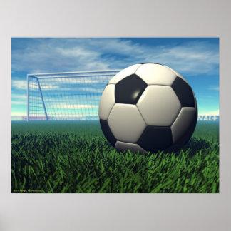 Fotbollboll (fotboll) poster