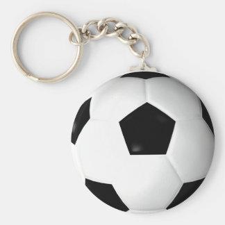Fotbollboll (fotboll) rund nyckelring