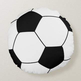 Fotbollboll kudder rund kudde