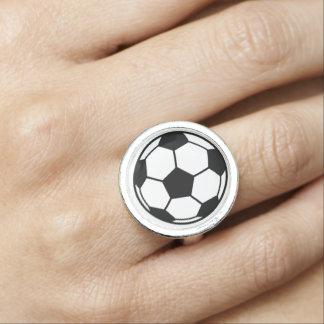 Fotbollboll Ringar