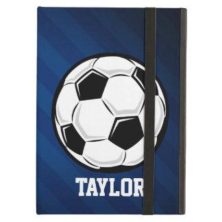 Fotbollboll; Rött, vit och blått iPad Air Skydd
