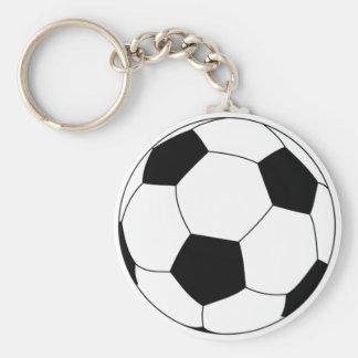 Fotbollbollkeychain Rund Nyckelring