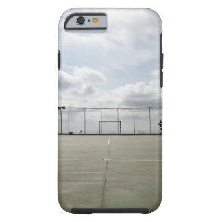 Fotbollfält i Barcelona, Spanien Tough iPhone 6 Case