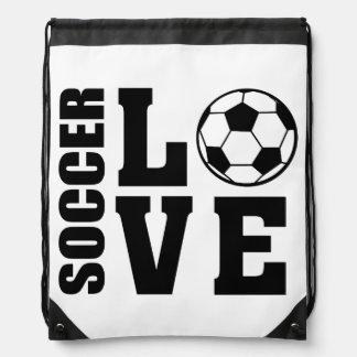 Fotbollkärlek, fotboll hänger lös gympapåse