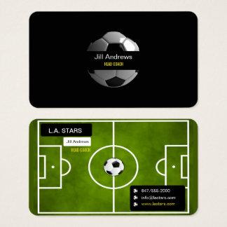 fotbolllagledarevisitkort visitkort