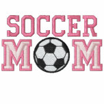 Fotbollmamma - rosa munkjacka