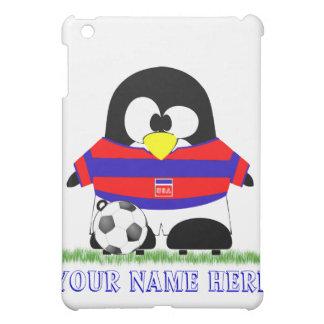 Fotbollpingvin iPad Mini Mobil Fodral