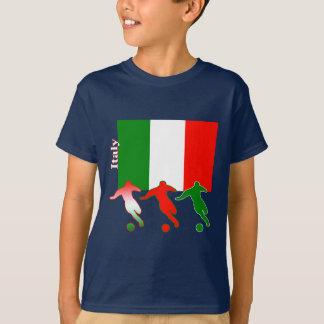 Fotbollspelare - italien tröjor