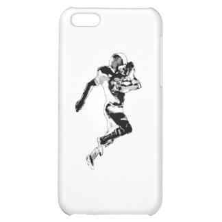 Fotbollspringersvart Transp den MUSEUMZazzle Gifen iPhone 5C Mobil Skal