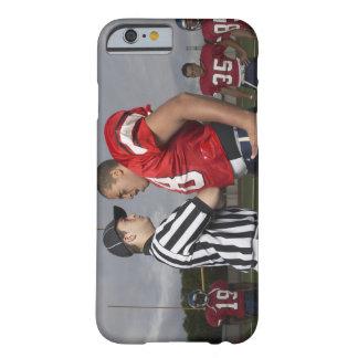 Fotbollsspelare som argumenterar med domare barely there iPhone 6 skal