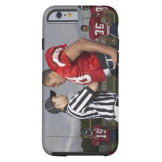 Fotbollsspelare som argumenterar med domare tough iPhone 6 case