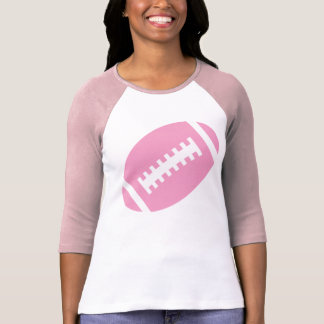 FOTBOLLVUXEN rosor & mjuk rosa fotboll för vit | Tshirts
