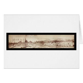 Foto 1870 för Duluth MN-strand Hälsningskort