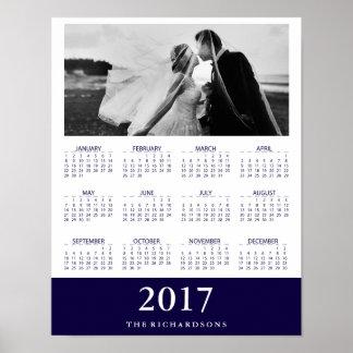 Foto för 2017 kalender för marinrand | modernt poster