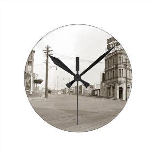 foto för 20-talvintagegata medium rund klocka