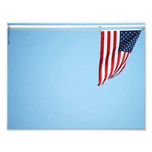 Foto för amerikanska flaggan 2412