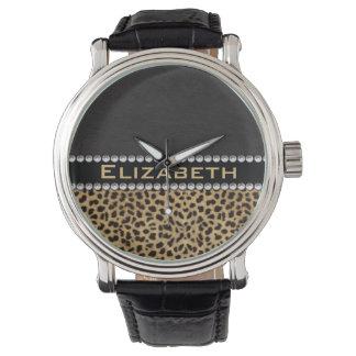 FOTO för Monogram för diamanter för Armbandsur