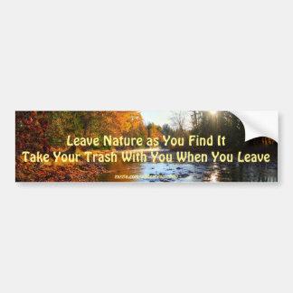 Foto för natur för Adams flodShuswap vildmark Bildekal