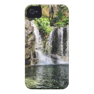 Foto för naturvattenfallkonst Case-Mate iPhone 4 skydd