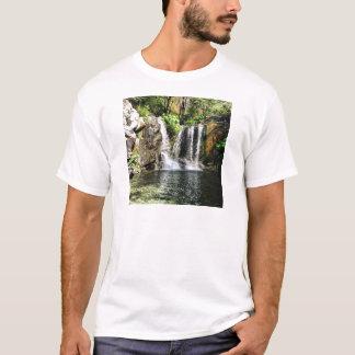 Foto för naturvattenfallkonst t shirt