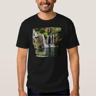 Foto för naturvattenfallkonst tee shirt