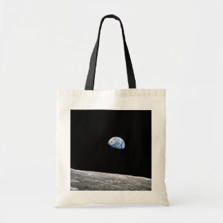Foto för omlopp för måne för NASA Apollo 8 Tygkasse