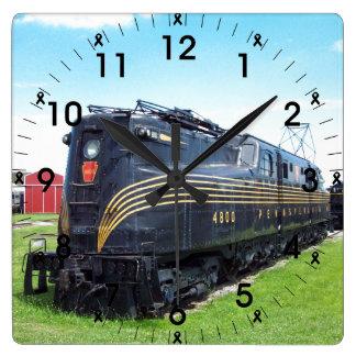 Foto för Pennsylvania järnväglokomotiv GG-1 #4800 Fyrkantig Klocka