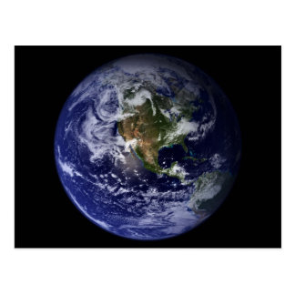 Foto för planetjordutrymme vykort