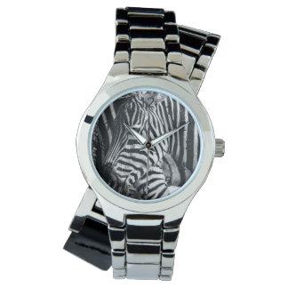 Foto för sebradjurlivdjur armbandsur