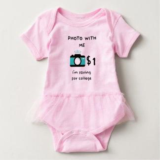 Foto med babyen t shirt