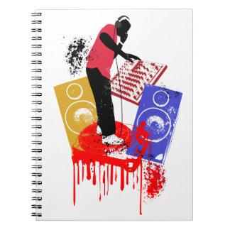 Fotoanteckningsbok (80 sidor B&W) Spiral Anteckningsbok