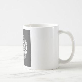 Fotoet cirklar kaffemugg
