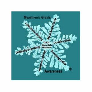 Fotoet för den MyastheniaGravis medvetenheten 3D k