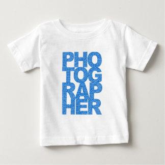 Fotograf - blåtttext tee shirt