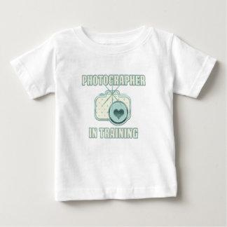 Fotograf i utbildningsT-tröjablått T Shirt