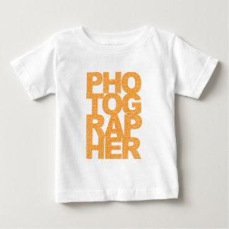 Fotograf - orange text t-shirt