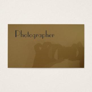 Fotograf Visitkort
