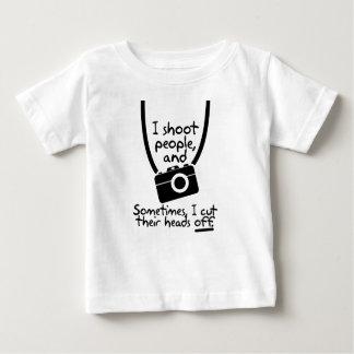 Fotografen skjuter jag folk t-shirts