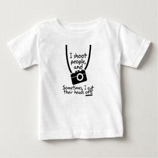 Fotografen skjuter jag folk tröjor