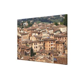Fotografera taget i Siena, italien. En kan se Canvastryck