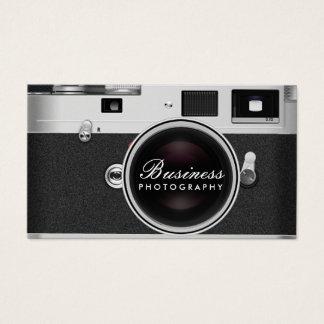 Fotografi för fotografklassikerkamera visitkort