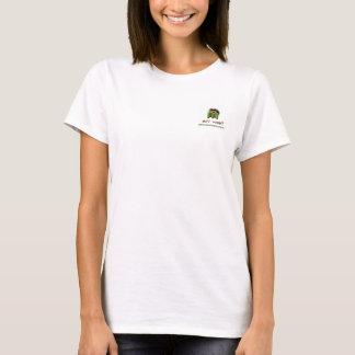Fotografi och design vid den Michelle hamnskjortan T-shirts