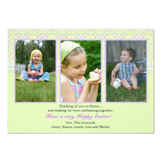 Fotokort för perfekt tre 12,7 x 17,8 cm inbjudningskort